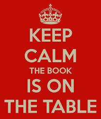 the book is on the table